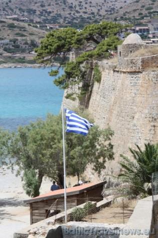Spinalongas cietoksnis, kuru uzbūvēja venēcieši, ir viens no izturīgākajiem cietokšņiem visā Krētas salā