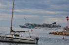 Skats uz jūru un mūsu skaisto kuģi no Villefranche. Vairāk informācijas www.remirotravel.lv 16