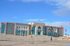Tunisas centrā. Rātsnams. Vecpilsēta Medina, Tunisijas sirds un UNESCO pasaules kultūras mantojuma piemineklis. 2