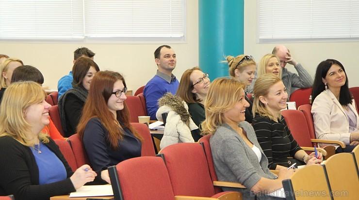 Ar lieldrauga Amadeus Latvia atbalstu Travelnews.lv semināra lektori (21.04.2016) paver jaunu zināšanu un prasmju apvāršņus - Haralds Burkovskis, Ieva