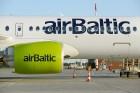 Lidosta «Rīga» un «Airbaltic» medijiem atrāda savu infrastruktūru un gaisa floti 7