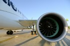 Lidosta «Rīga» un «Airbaltic» medijiem atrāda savu infrastruktūru un gaisa floti 27