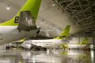Lidosta «Rīga» un «Airbaltic» medijiem atrāda savu infrastruktūru un gaisa floti 59