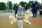 Rīgā aktīvi norisinās darbi, lai 16.septembrī atklātu Centra sporta kvartālu 3