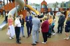 Rīgā aktīvi norisinās darbi, lai 16.septembrī atklātu Centra sporta kvartālu 5
