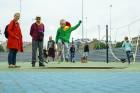 Rīgā aktīvi norisinās darbi, lai 16.septembrī atklātu Centra sporta kvartālu 9