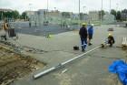 Rīgā aktīvi norisinās darbi, lai 16.septembrī atklātu Centra sporta kvartālu 12
