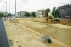 Rīgā aktīvi norisinās darbi, lai 16.septembrī atklātu Centra sporta kvartālu 19