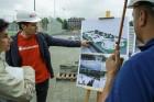 Rīgā aktīvi norisinās darbi, lai 16.septembrī atklātu Centra sporta kvartālu 23