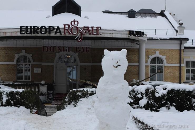 Lietuvas pilsētā Druskininkos paveikts liels darbs, lai ceļotājam izdotos daudzveidīga atpūta gan ziemā, gan vasarā, bet akvaparks un sniega arēna šei 242934