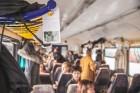 Ar trīs grāmatu plauktiem un vairākiem desmitiem grāmatu aprīkotais vilciena sastāvs kursēs visos dīzeļvilcienu maršrutos, dodot iespēju cilvēkiem Lat 25