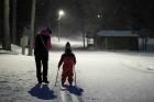 Lai gan citviet Latvijā sniega sega ir ievērojami sarukusi, Alūksnē tā ir pietiekami noturīga, lai varētu notikt ilgi gaidītais slēpojums