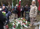 Pie Īles nacionālo partizānu bunkura notika piemiņas brīdis un kaujas rekonstrukcija