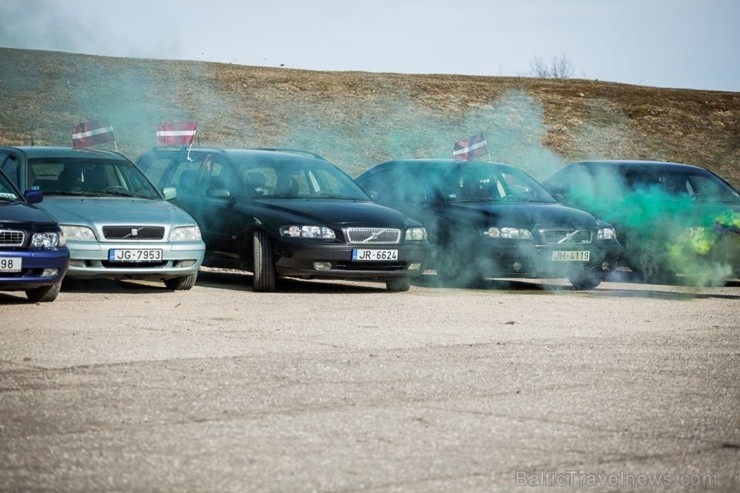 Madonā norisinājās Latvijas Volvo apvienības sezonas atklāšanas pasākums, kurā piedalījās vairāk kā 50 dalībnieki no dažādām Latvijas pusēm