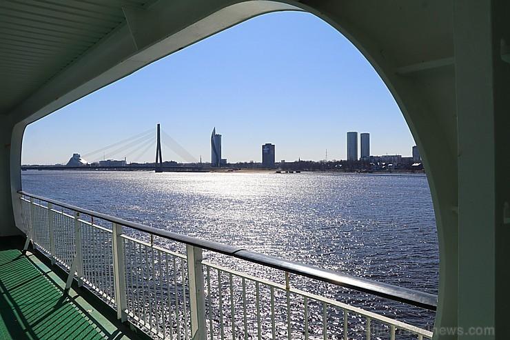 Prāmju kompānija «Tallink Grupp» uz «Romantika» klāja svin 30 gadu jubileju un 13 gadus Latvijā 250641