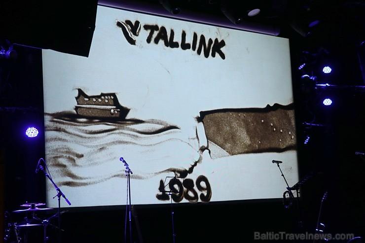Prāmju kompānija «Tallink Grupp» uz «Romantika» klāja svin 30 gadu jubileju un 13 gadus Latvijā 250658