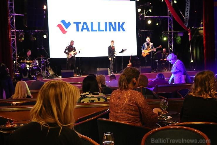 Prāmju kompānija «Tallink Grupp» uz «Romantika» klāja svin 30 gadu jubileju un 13 gadus Latvijā 250670