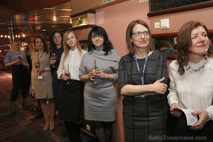 Prāmju kompānija «Tallink Grupp» uz «Romantika» klāja svin 30 gadu jubileju un 13 gadus Latvijā 250698