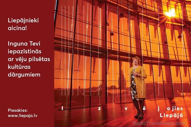 Liepājas pilsēta ikvienam Latvijas iedzīvotājam piedāvā iespēju atbraukt ciemos pie īstiem liepājniekiem un pavadīt neaizmirstamu nedēļas nogali Liepā 251134