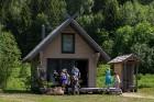Ar krāšņu svētku atklāšanas programmu Alūksnes  pusē atklātas Veclaicenes aizsargājamo ainavu apvidū izveidotās Dabas mājas un pašapkalpošanās tūrisma 6