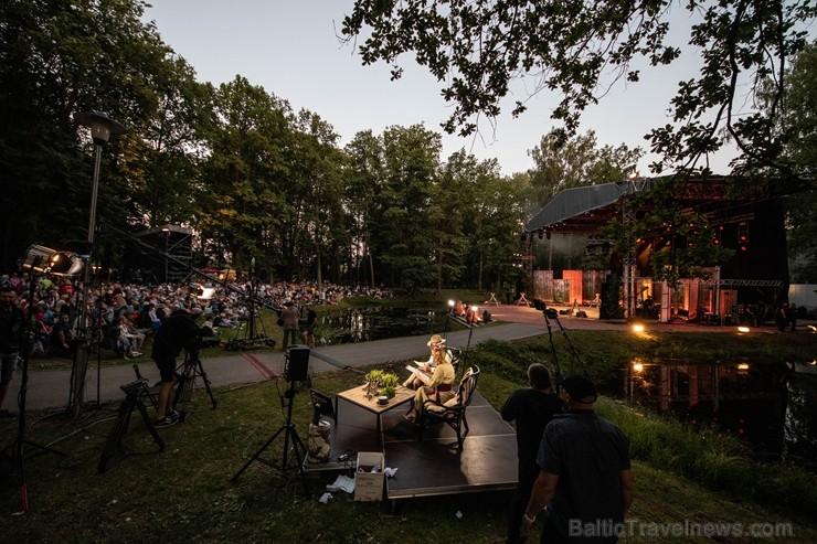 Rembates parka brīvdabas estrādē Lielvārdē, jau otro reizi tika noskaidrota Latvijas sirdsdziesma
