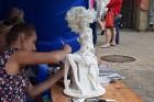 Daugavpilī notiekošā festivāla apmeklētājiem bija iespēja apskatīt unikālas izstādes un piedalīties daudzveidīgajās meistarklasēs 2