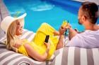 Viesnīcas Lielupe by Semarah Hotels atklātajā baseinā var baudīt vasarīgas sajūtas 1