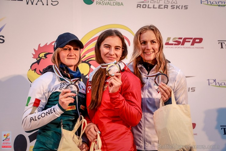 Madonā norisinās pasaules čempionāts distanču slēpošanas vasaras paveidā rollerslēpošanā, kas pulcē teju 170 dalībnieku no 15 pasaules valstīm