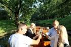 Pārdaugavas restorāns «Hercogs Fabrika» piedāvā jahtas izbraucienu ar romantiskām vakariņām pārim vai arī grupai 8