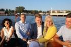 Pārdaugavas restorāns «Hercogs Fabrika» piedāvā jahtas izbraucienu ar romantiskām vakariņām pārim vai arī grupai 53