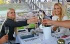 Pārdaugavas restorāns «Hercogs Fabrika» piedāvā jahtas izbraucienu ar romantiskām vakariņām pārim vai arī grupai 65