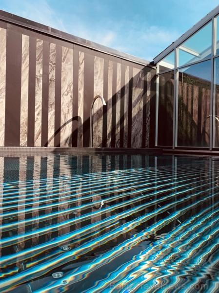ESPA Rīga Termālā kompleksa rekonstrukcija ilga nedaudz vairāk kā mēnesi un tās laikā pilnībā atjaunots āra baseins, bet iekštelpās veikts kosmētiskai