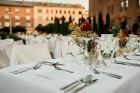 Viesnīcas Park Hotel Latgola restorāna PLAZA komanda 22.08.2019 rīkoja ekskluzīvas vakariņas neparastā vietā - Daugavpils Universitātes skvērā 5