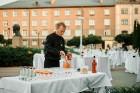 Viesnīcas Park Hotel Latgola restorāna PLAZA komanda 22.08.2019 rīkoja ekskluzīvas vakariņas neparastā vietā - Daugavpils Universitātes skvērā 10