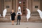 Viesnīcas Park Hotel Latgola restorāna PLAZA komanda 22.08.2019 rīkoja ekskluzīvas vakariņas neparastā vietā - Daugavpils Universitātes skvērā 18