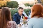 Viesnīcas Park Hotel Latgola restorāna PLAZA komanda 22.08.2019 rīkoja ekskluzīvas vakariņas neparastā vietā - Daugavpils Universitātes skvērā 25