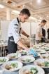 Viesnīcas Park Hotel Latgola restorāna PLAZA komanda 22.08.2019 rīkoja ekskluzīvas vakariņas neparastā vietā - Daugavpils Universitātes skvērā 26