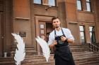 Viesnīcas Park Hotel Latgola restorāna PLAZA komanda 22.08.2019 rīkoja ekskluzīvas vakariņas neparastā vietā - Daugavpils Universitātes skvērā 33
