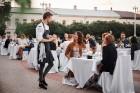 Viesnīcas Park Hotel Latgola restorāna PLAZA komanda 22.08.2019 rīkoja ekskluzīvas vakariņas neparastā vietā - Daugavpils Universitātes skvērā 37