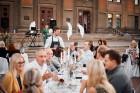 Viesnīcas Park Hotel Latgola restorāna PLAZA komanda 22.08.2019 rīkoja ekskluzīvas vakariņas neparastā vietā - Daugavpils Universitātes skvērā 38