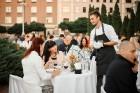 Viesnīcas Park Hotel Latgola restorāna PLAZA komanda 22.08.2019 rīkoja ekskluzīvas vakariņas neparastā vietā - Daugavpils Universitātes skvērā 46