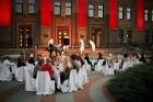 Viesnīcas Park Hotel Latgola restorāna PLAZA komanda 22.08.2019 rīkoja ekskluzīvas vakariņas neparastā vietā - Daugavpils Universitātes skvērā 49