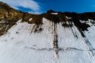 Latvijas Universitātes zinātnieki atgriezušies no ekspedīcijas Svalbāras arhipelāgā, kur tie pētīja ledājus un vides piesārņojumu vietā, kuru no Zieme 5