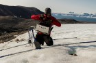 Latvijas Universitātes zinātnieki atgriezušies no ekspedīcijas Svalbāras arhipelāgā, kur tie pētīja ledājus un vides piesārņojumu vietā, kuru no Zieme 45