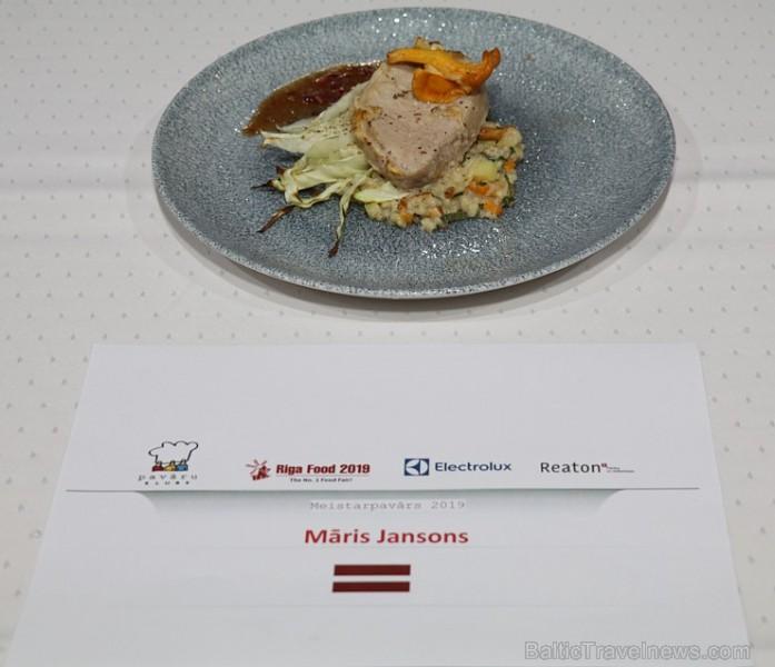 Latvijas populārākie šefpavāri izstādē «Riga Food 2019» cīnās par Latvijas labākā meistarpavāra titulu