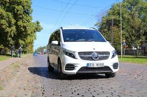 Travelnews.lv apceļo Latviju ar jauno biznesa klases mikroautobusu «Mercedes-Benz V-Klase» 11