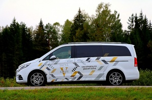 Travelnews.lv apceļo Latviju ar jauno biznesa klases mikroautobusu «Mercedes-Benz V-Klase» 37