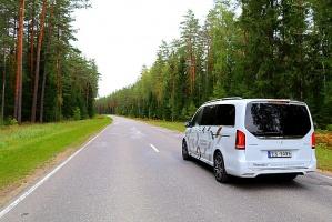 Travelnews.lv apceļo Latviju ar jauno biznesa klases mikroautobusu «Mercedes-Benz V-Klase» 38