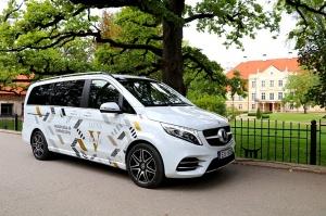 Travelnews.lv apceļo Latviju ar jauno biznesa klases mikroautobusu «Mercedes-Benz V-Klase» 42