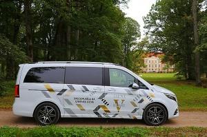 Travelnews.lv apceļo Latviju ar jauno biznesa klases mikroautobusu «Mercedes-Benz V-Klase» 44